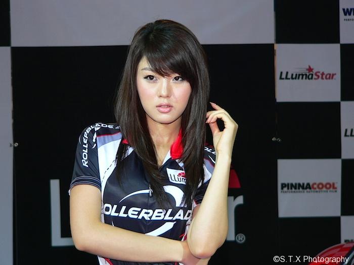 首尔车展,黄美姬