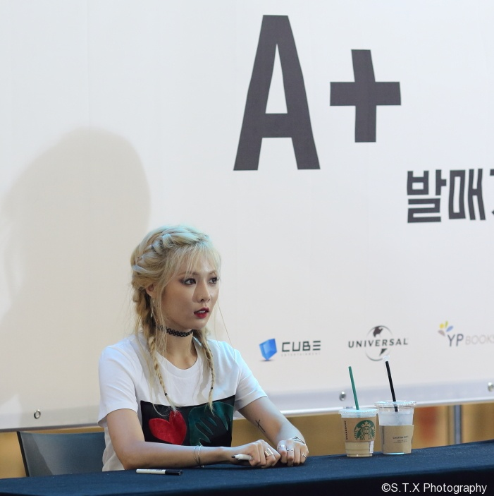 4Minute 泫雅 汝矣岛