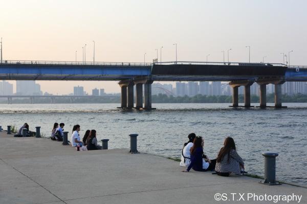 首尔汉江汝矣岛公园