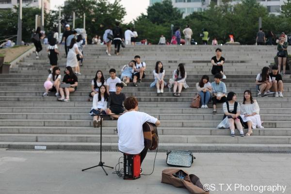 汝矣岛公园首尔汉江
