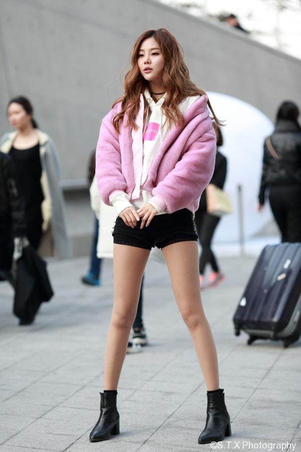 韩国潮人时尚街拍