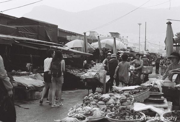 札嘎其海鲜市场