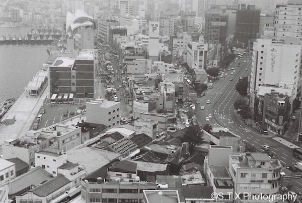 釜山港全景
