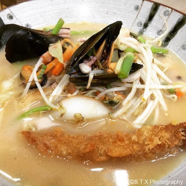 日本海鲜拉面
