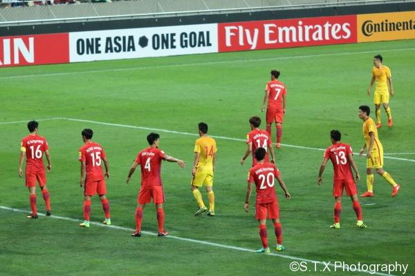 世预赛中国VS韩国