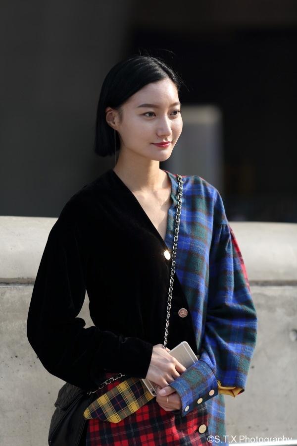 飘在思密达、韩国时尚街拍