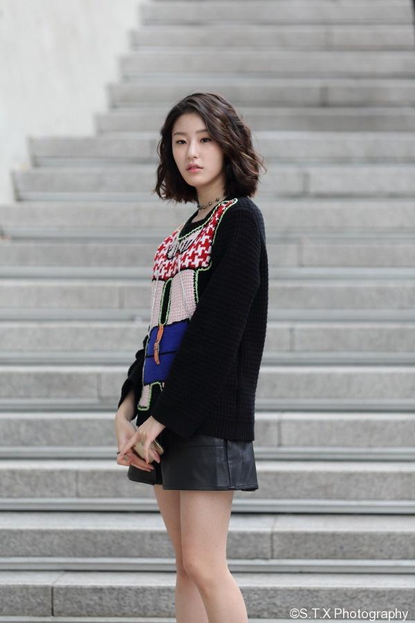 2016韩国时尚街拍