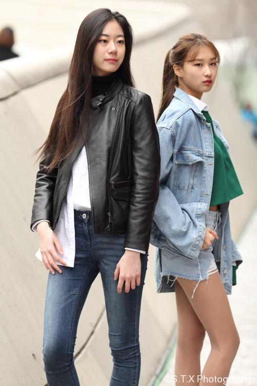 2017韩国时尚街拍、首尔时装周