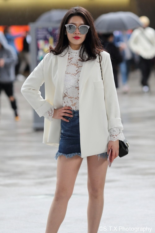 2017春季韩国时尚街拍