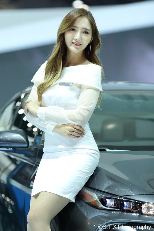 韩国车模、首尔车展