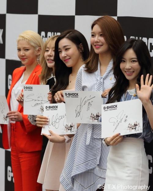 少女时代、泰妍、秀英、 Sunny、Tiffany、孝渊