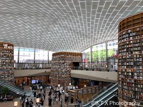 COEX、星星庭院图书馆