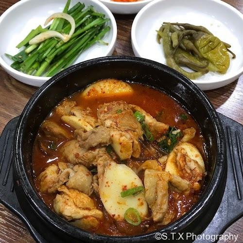 辣味砂锅炖鸡块