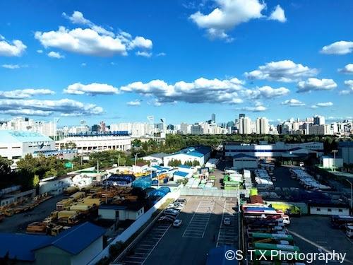 9月首尔的风景