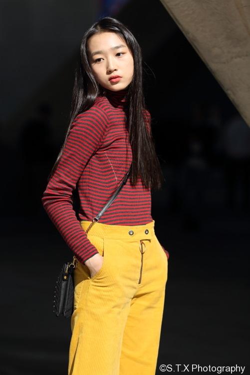 2017秋季韩国时尚街拍