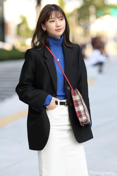 2017秋季韩国时尚街拍、金珍京