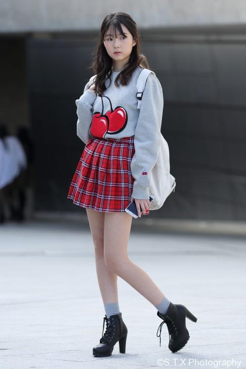 2018 S/S 韩国时尚街拍