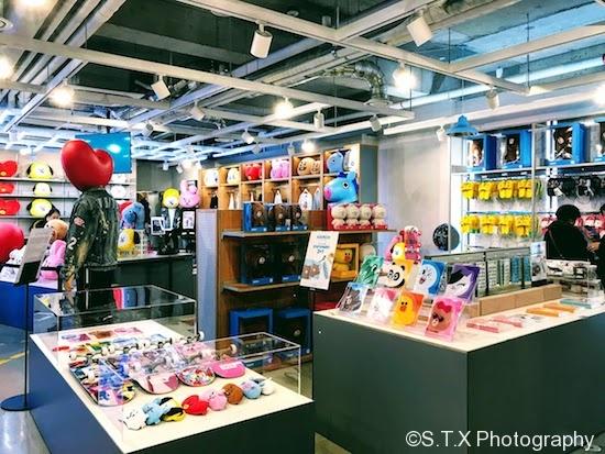 LINE FRIENDS CAFE & STORE梨泰院旗舰店