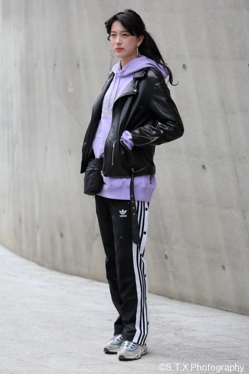 2018首尔时尚街拍