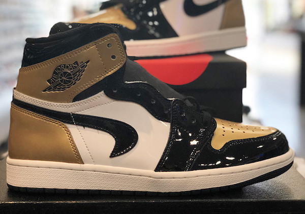 Air Jordan 1 NRG Gold Toe