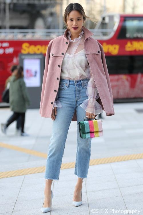 2018春季首尔时尚街拍、Jamie Chung