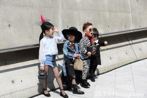 2018韩国时尚儿童街拍