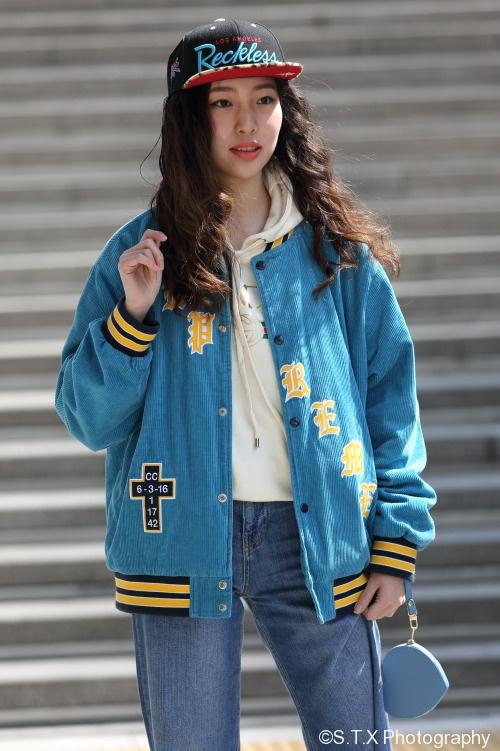 2018春季首尔时尚街拍、LEE JINI