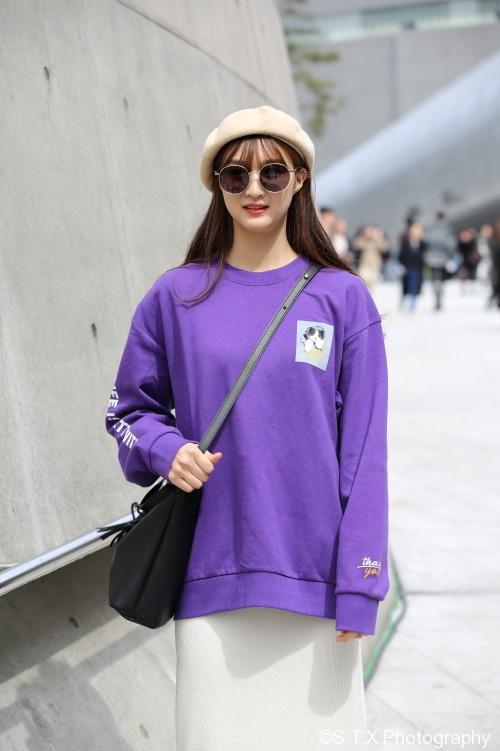 2018春季首尔时尚街拍