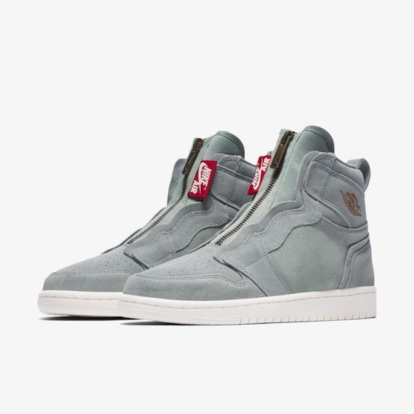 Air Jordan 1 High Zip Mica Green
