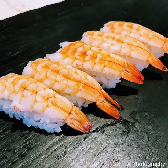 牡丹虾寿司