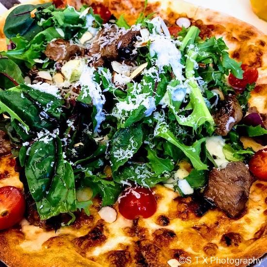 韩式烤肉披萨