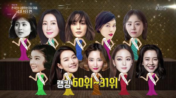 2018韩国人最爱的美女明星