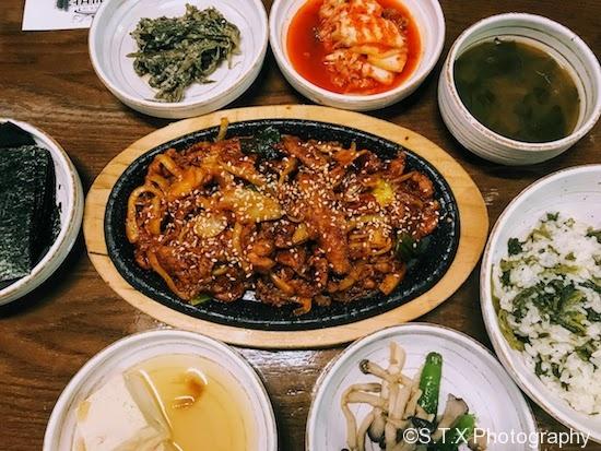辣椒酱炒猪肉