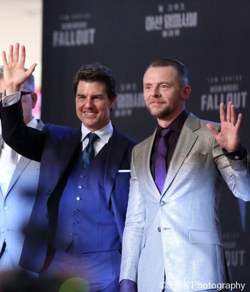 汤姆·克鲁斯、Tom Cruise、西蒙·佩吉、Simon Pegg