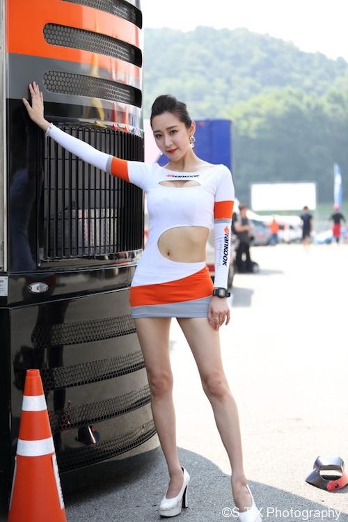 韩智吾、韩国美女车模