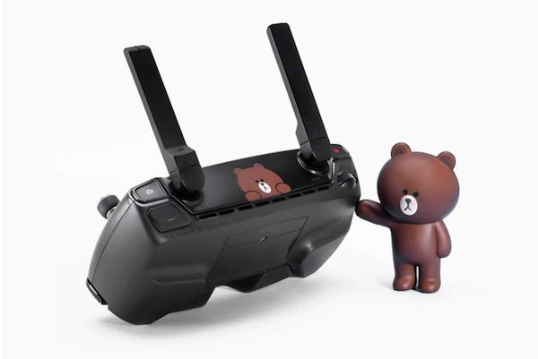 大疆Spark无人机Line Friends布朗熊特别版