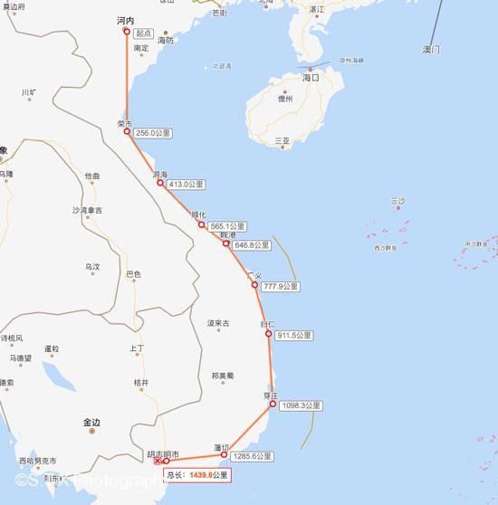 越南旅行路线