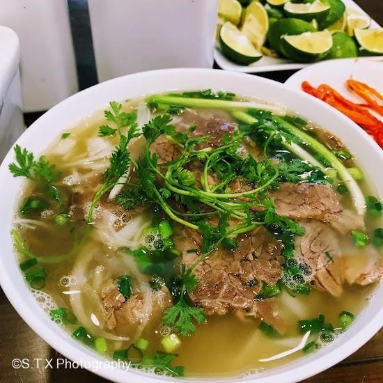 Pho 10牛肉河粉、河内美食、phobo