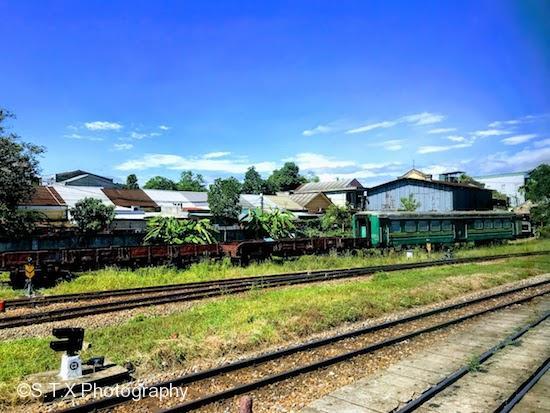河内岘港SE3列车