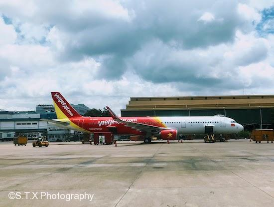 VietJet Air、新山一国际机场