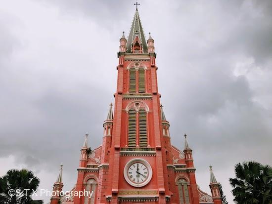 耶稣圣心堂、Tan Dinh Catholic Church