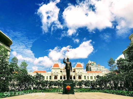 胡志明市政厅广场