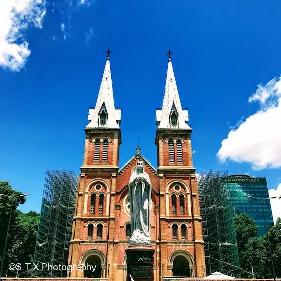 红教堂、胡志明市