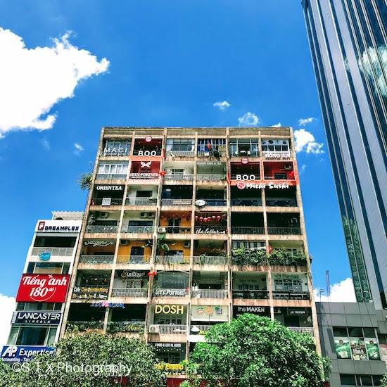 咖啡公寓、胡志明市