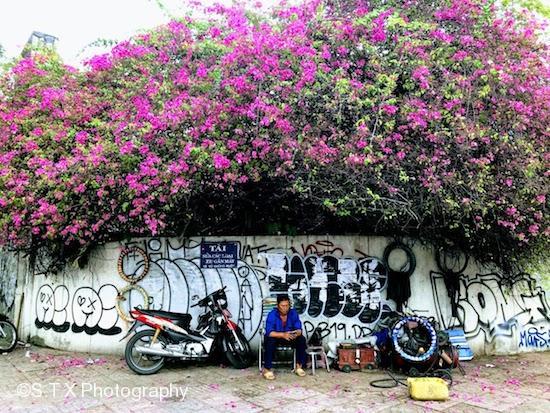 胡志明市、手机街拍